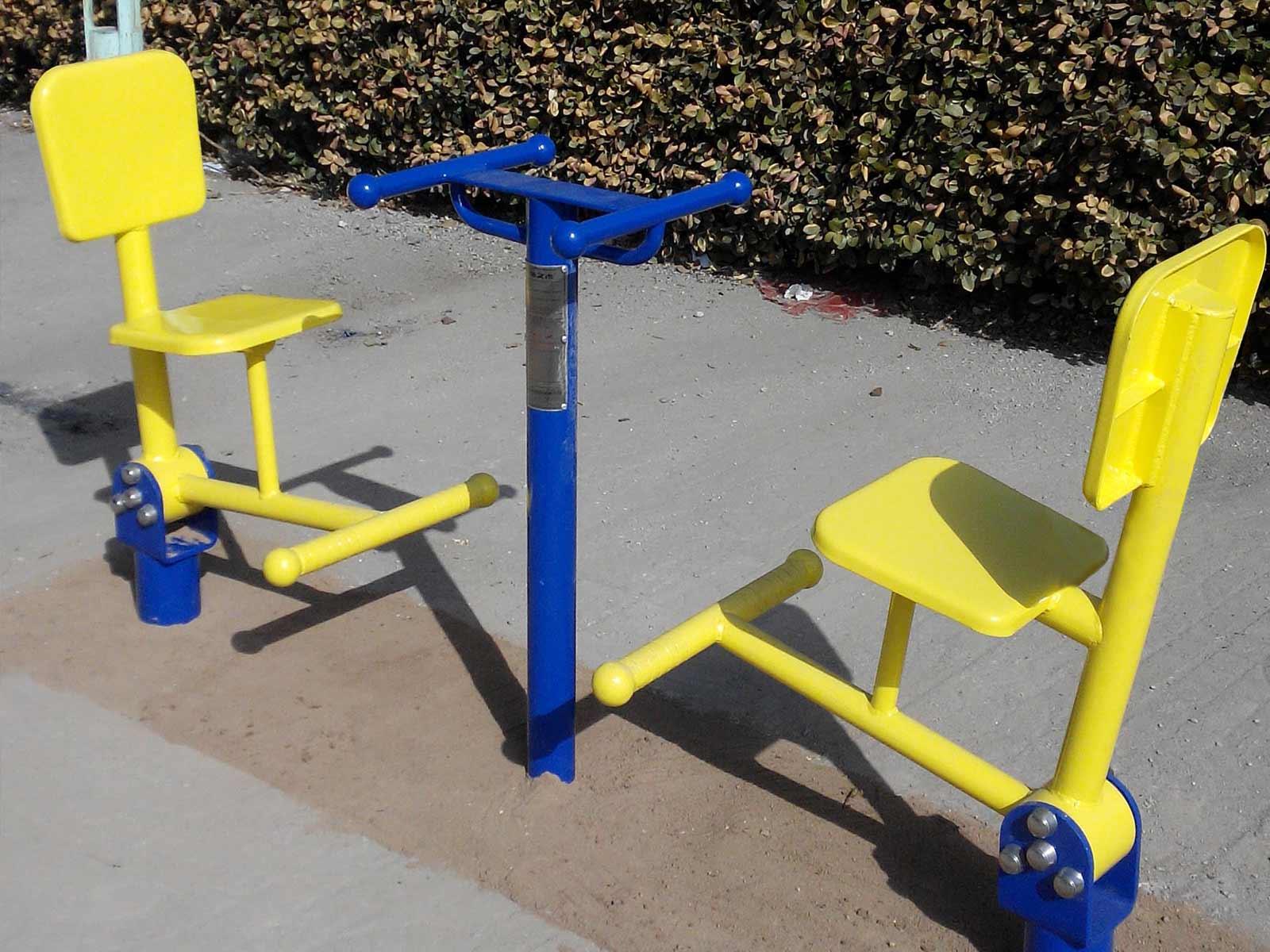 室外健身路径厂家_小区健身器材哪款适合你