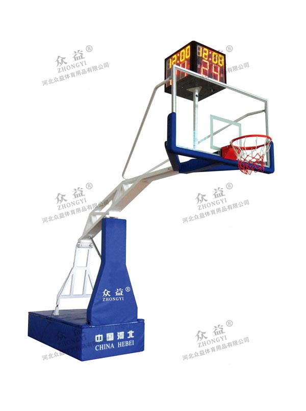 ZY-1001 电动液压篮球架
