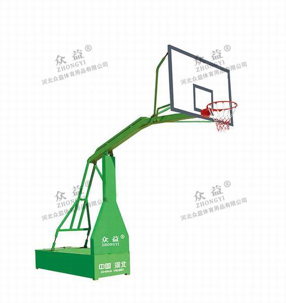 ZY-1004 仿液压球架(配复合篮板)