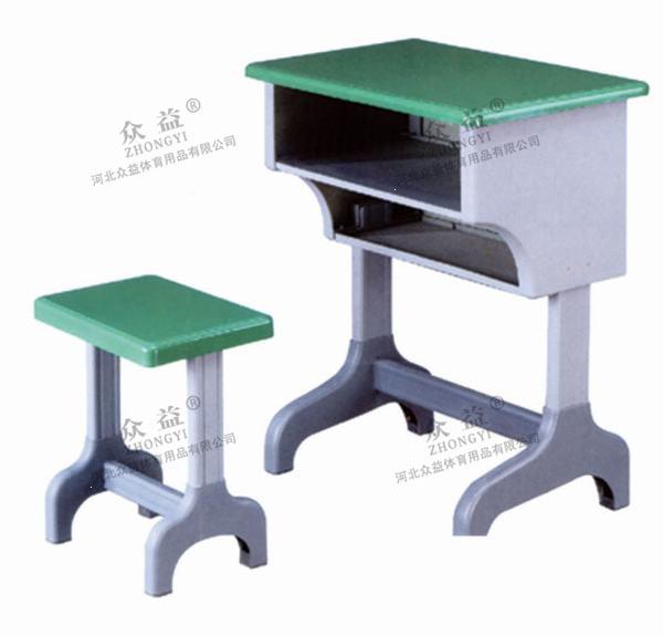 ZY-3301单人课桌椅(双层)